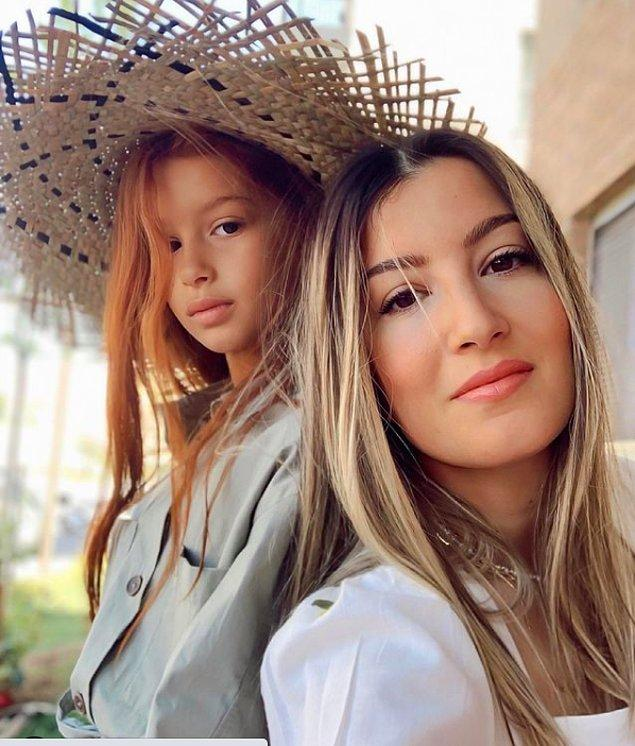 10. Turuncu prenses Melis ve güzel annesi Tuğba'ya da anne kız hangi ürünleri tercih ettiklerini sorduk.