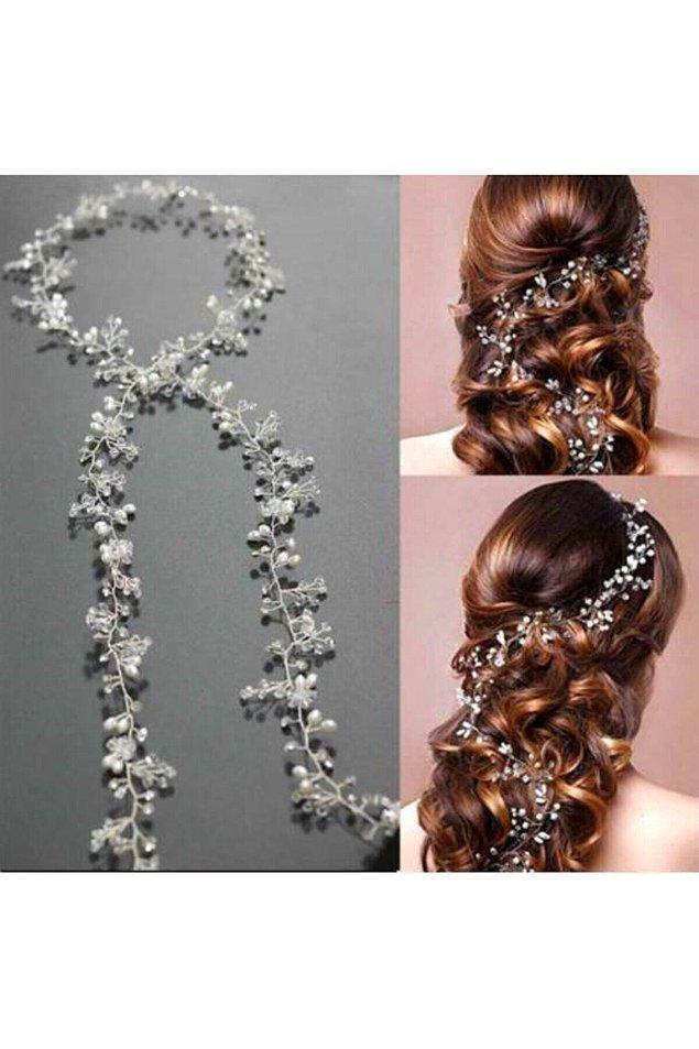 4. Bu sarmaşık taçlar her saç modeline çok yakışıyor.