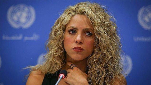 14. Shakira
