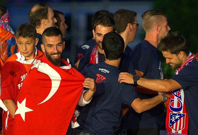 7. Arda Turan / 2013-2014 / Atletico Madrid
