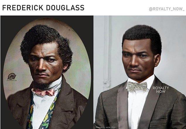 19. yüzyılda köleliğe karşı savaş veren Amerikalı politikacı Frederick Douglass