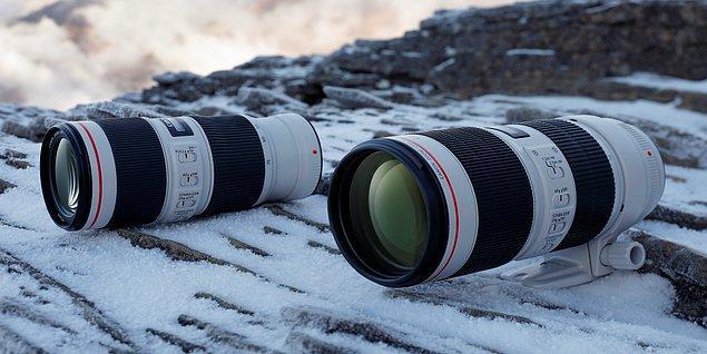 11. Harici kamera lensleri