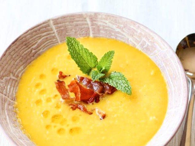 8. Kavun Gazpacho Çorbası