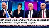Sedat Peker'in İddialarını Yanıtlayan Süleyman Soylu'nun Gazetecilere Soru Sordurmaması Tepki Çekti