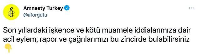 Beyhan'ın açıklamasının ardından örgütün Türkiye Şubesinin resmi Twitter hesabından son yıllarda basına yansıyan ve örgüt tarafından raporlanan iddialara ilişkin açıklamalar paylaşıldı.