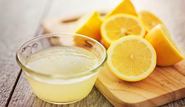 4. Limon ve Su ile Temizlenmeyen Yer Kalır Mı?