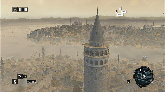 12. Assassin's Creed Revelations - Galata Kulesi