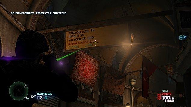11. Splinter Cell Blacklist - Kapalıçarşı