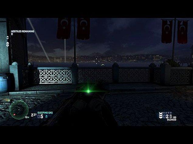 10. Splinter Cell Blacklist - Galata Köprüsü