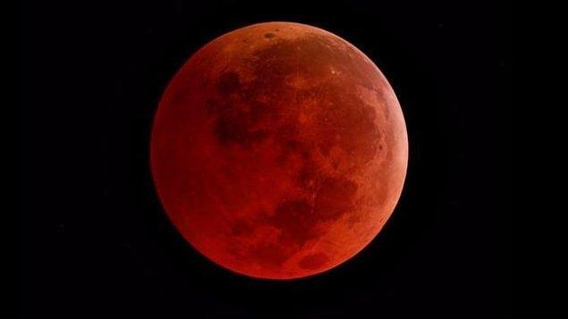 Tam Ay tutulması (Kanlı Ay tutulması)
