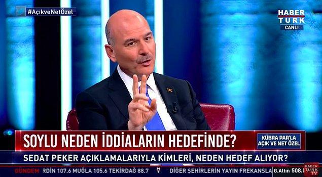 Soylu haberi hazırlayan BBC Türkçe'yi hedefine aldı.