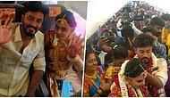 Havada Evlendiler! Koronavirüs Yasaklarından Kaçmak İçin Uçakta 161 Davetliyle Düğün Yapan Çift