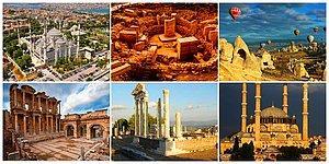 Güzel Ülkemizde Bulunan ve UNESCO Dünya Mirası Listesine Alınan 18 Yer