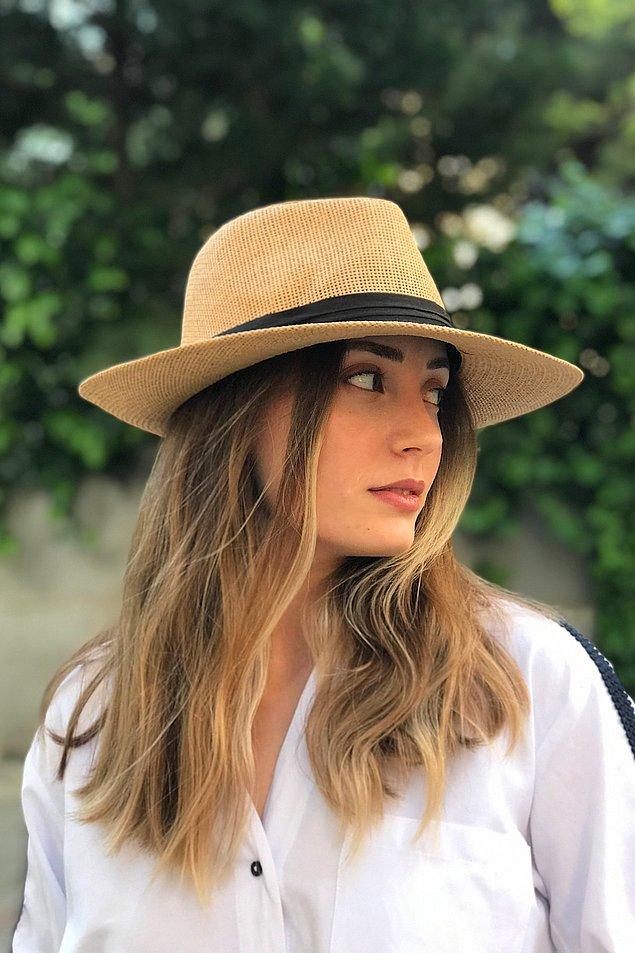 5. Yaz kombinlerinin favorisi hasır şapkalar