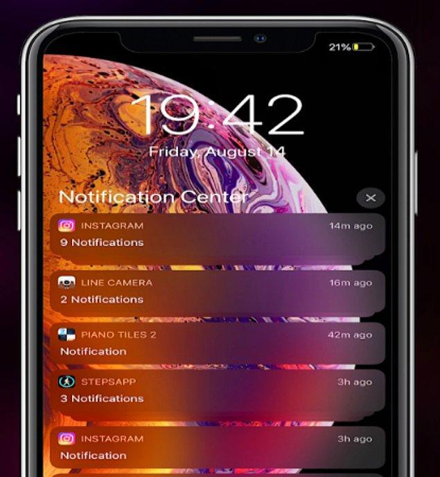 5. OS12 Lockscreen