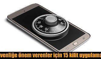 Android Telefonlar İçin En Kullanışlı 15 Ekran Kilidi Uygulaması