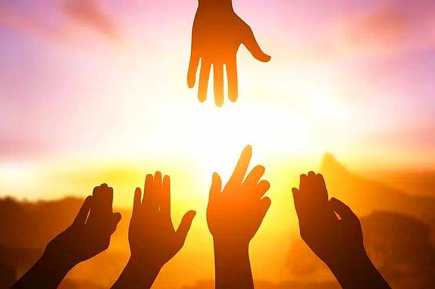 1. Sürekli başkalarının iyiliğini düşünmek