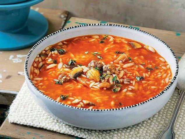5. Köfteli Arpa Şehriye Çorbası