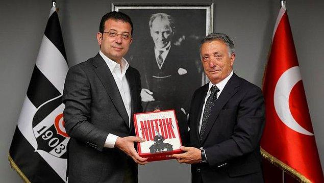 İBB Başkanı Sayın İmamoğlu ve Beşiktaş Belediye Başkanının kulübe yaptığı tebrik ziyareti büyük inceliktir.