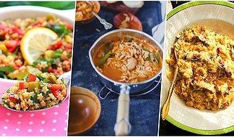 Mutfakların Olmazsa Olmazı Şehriye ile Yapabileceğiniz Nefis 10 Tarif