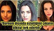 Estetiksiz Hali Olay Olan ve Sadece Burnunu Yaptırdığını Söyleyen Tuvana Türkay İsyan Bayrağını Çekti!