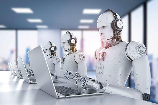 Robot işçiler!