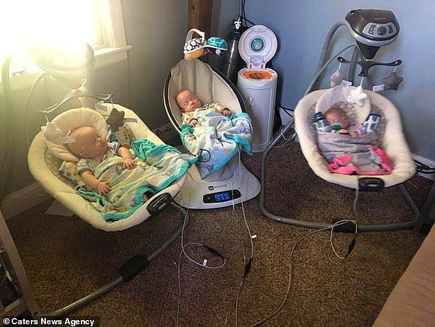 Şu an bu tatlı mı tatlı bebekler gayet iyi ve sağlıklılar. Kaylie dahil bütün DeShane ailesinin yaşadığı zorluklar karşısında verdikleri mücadeleler için takdir ediyoruz.