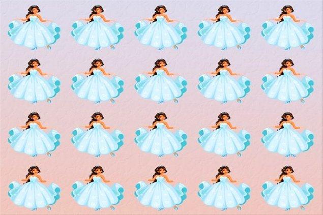 3. Bu prenseslerden biri farklı. Farklı olanı bulabildin mi?