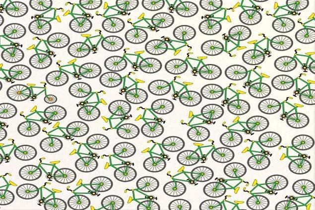 9. Farklı olan bisikleti bulabildin mi?
