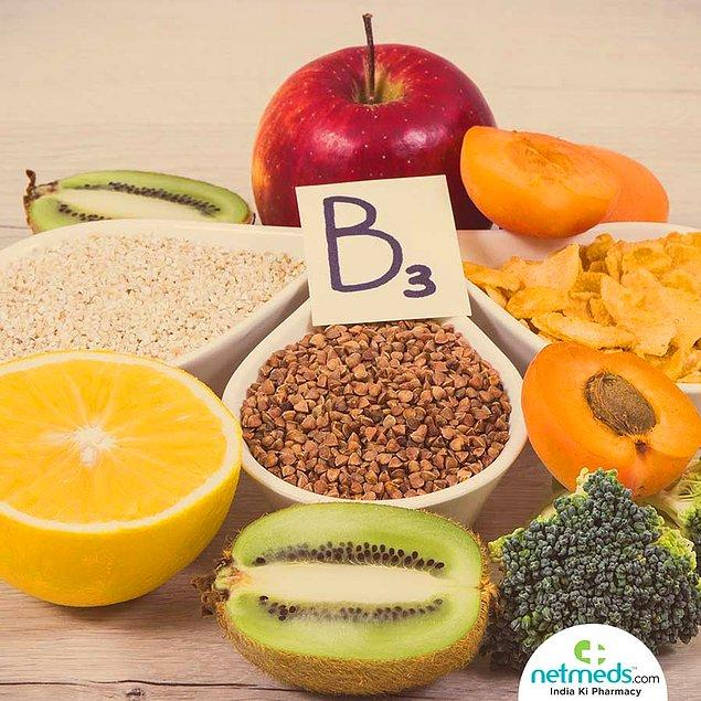B3 Vitamini Hangi Besinlerde Bulunur?