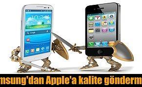 Samsung Rakibi Apple ile Video Aracılığıyla Dalga Geçti!