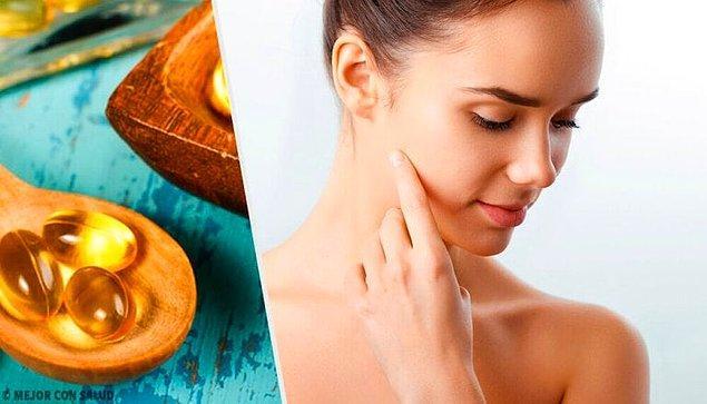 5. E vitaminin cilde faydaları saymakla bitmiyor!