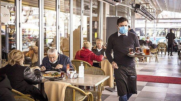 Restoranlara kişi sınırı