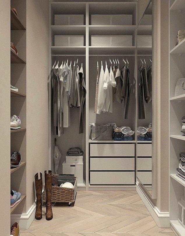 1. Çekmeceleri temizleyin