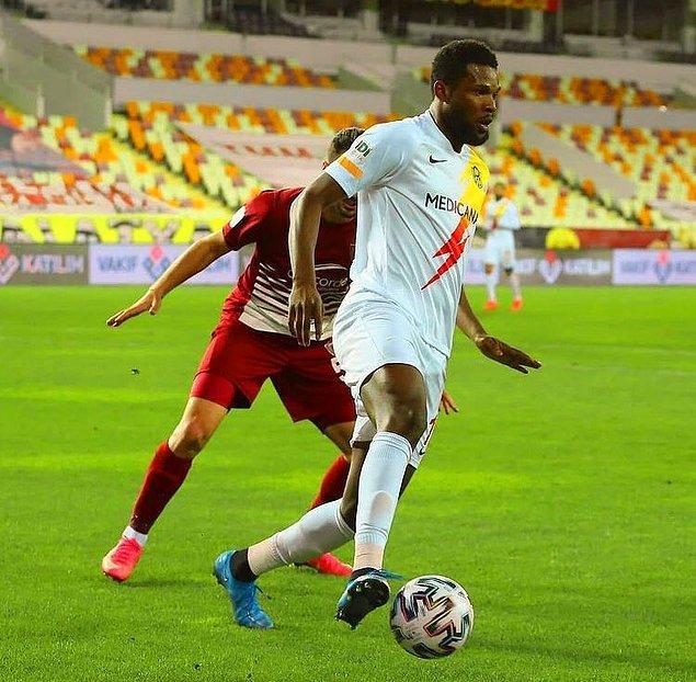 5. Benjamin Tetteh ➡️ Gaziantep FK
