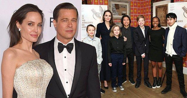 17 yaşındaki Pax, 16 yaşındaki Zahara ve 14 yaşındaki ikizler Knox ve Vivienne'nin velayeti Brad Pitt'e geçerken, 19 yaşındaki Maddox bu kararın dışında tutuldu.