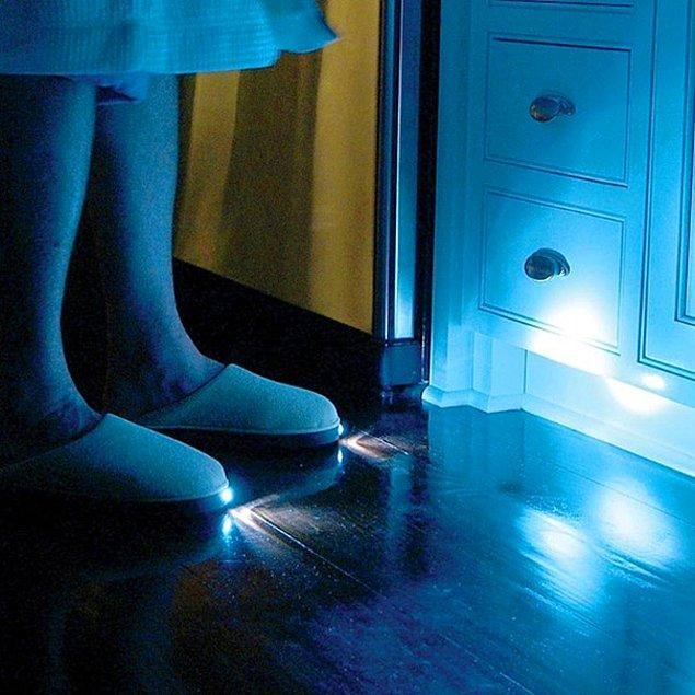 6. Işıklı terlikler