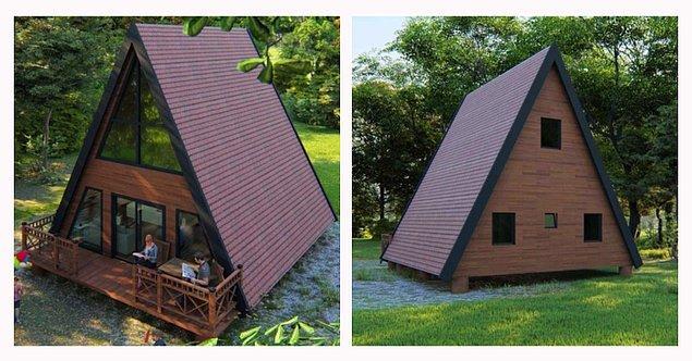 8. Üçgen bungalovlara ekstra ferah bir alternatif...
