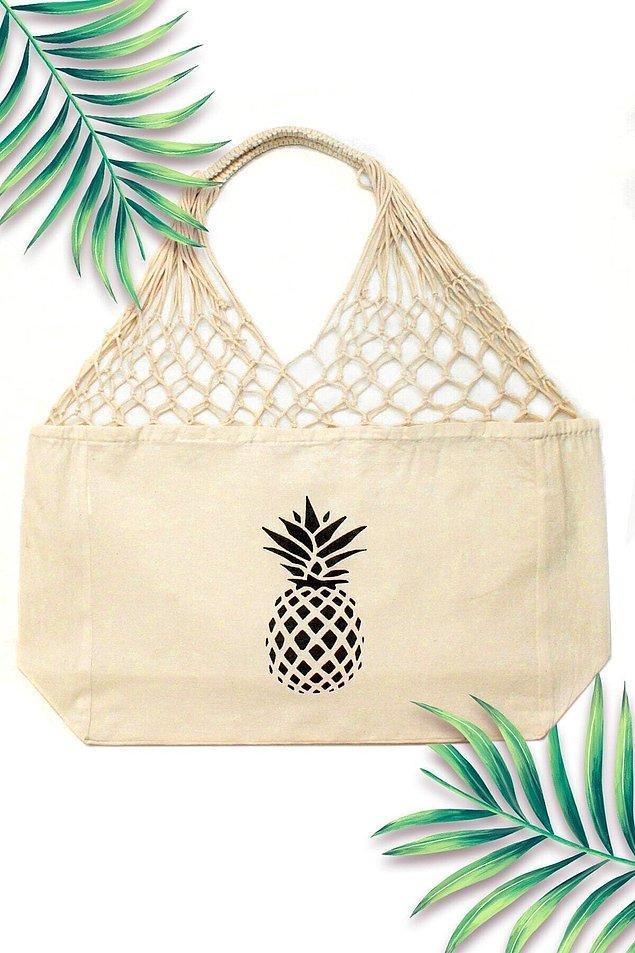 3. Hoş bir plaj çantası olmazsa olmaz...