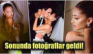 Geçtiğimiz Günlerde Dalton Gomez ile Dünya Evine Giren Ariana Grande'den Nihayet Düğün Fotoğrafları Geldi!🔥
