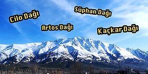 Ülkemizdeki En Yüksek Dağı Bulabilecek misin?