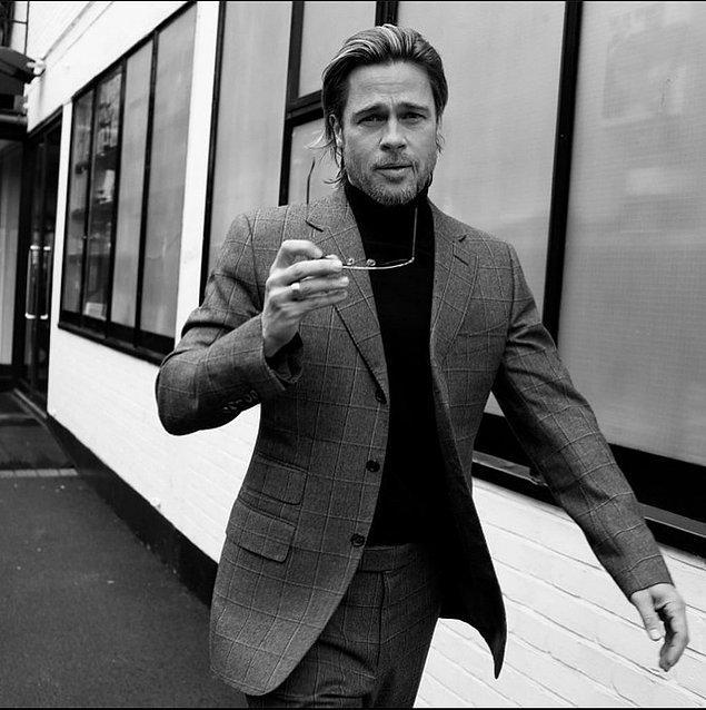 11. Brad Pitt, bir oyuncu olarak projelerini tanıttığında basın tarafından küçümsendiğini dile getirdi.