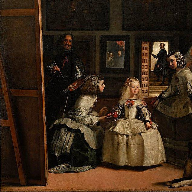 5. Resimdeki en az bir kişi The Office dizisindeki gibi sizlere bakıyorsa bu Diego Velázquez'dir.