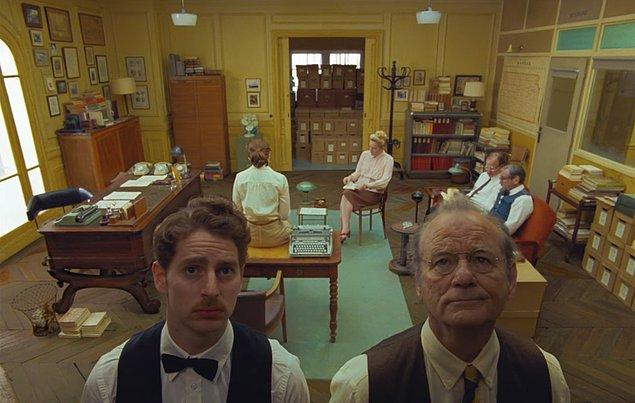 8. Wes Anderson'ın merakla beklenen yeni filmi The French Dispatch, 22 Ekim 2021'de vizyona girecek.