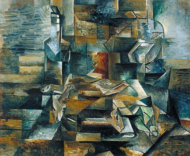 17. Ancak eğer sizde stres yaratan bir Tetris dizilimini hatırlatıyorsa bu George Braque'dur.