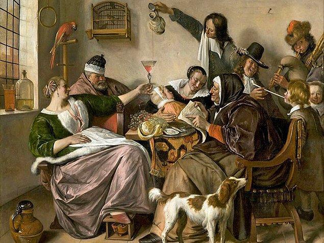 21. Eğer tabloda mutlu ve keyifli insanlar varsa bu muhtemelen Hollanda tarzı bir resimdir.