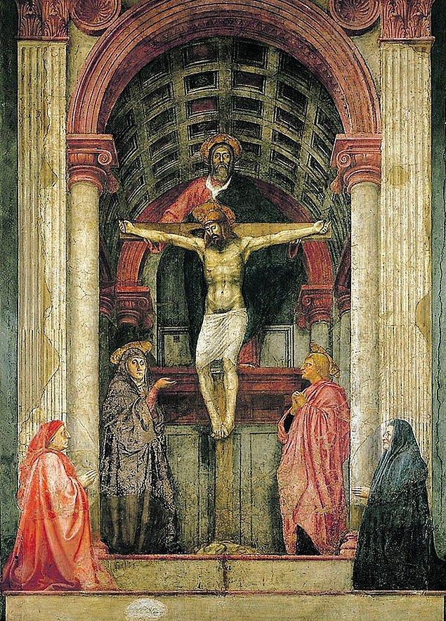 28. Üç boyutlu bir resim yapmayı öğrenen küçük bir çocuk düşünün. Resme baktığınızda onun bitmek bilmeyen sözlerini duyuyorsanız bu Masaccio'dur.