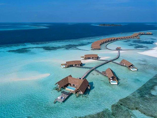 10. Maldivler'deki Kakao Adası
