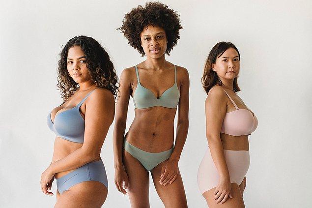6. Göğüs tipinize uygun iç çamaşırı tercih edin.