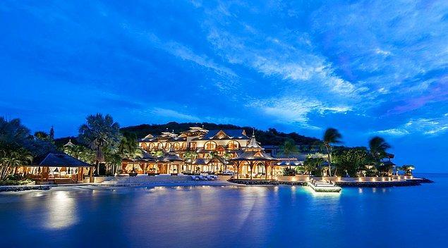 1. Grenada'daki Calivigny Adası